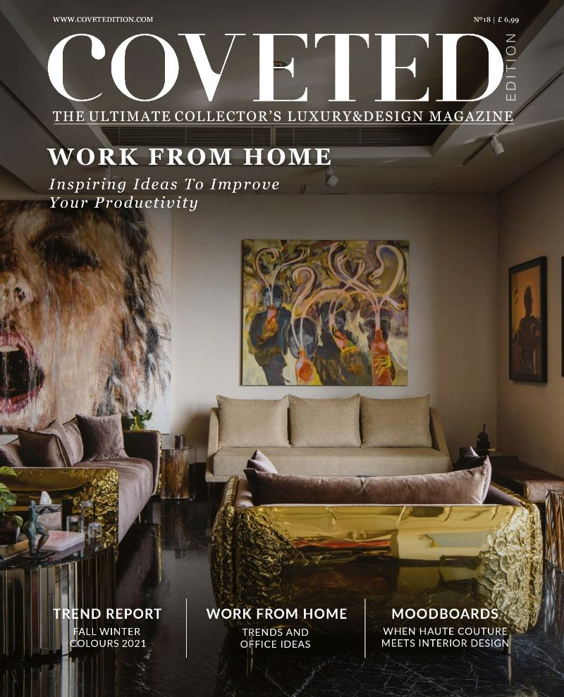 home office Coveted Magazine's 18 Edition: Tips For A Home Office BOCA DO LOBO 1
