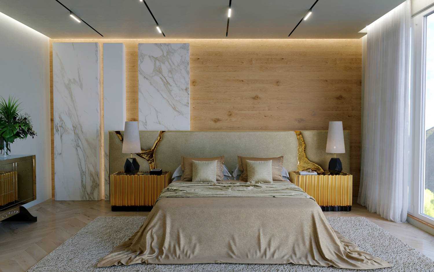 A Luxury Furniture Brand Just Launched Their First Modern Headboard