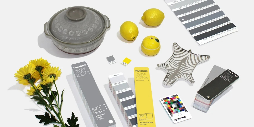 pantone colour of the year Design Ideas Featuring 2021's Pantone Colour Of The Year, Ultimate Gray and Illuminating 2021s Pantone Color Of The Year Is Out Not One But Two Hues 1024x512