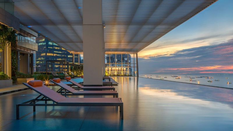 Inside A $14 Million Singapore Penthouse: The Wallich Residence By Superfat Designs singapore penthouse Inside A $14 Million Singapore Penthouse: The Wallich Residence By Superfat Designs Inside A 14 Million Singapore Penthouse The Wallich Residence By Superfat Designs 11
