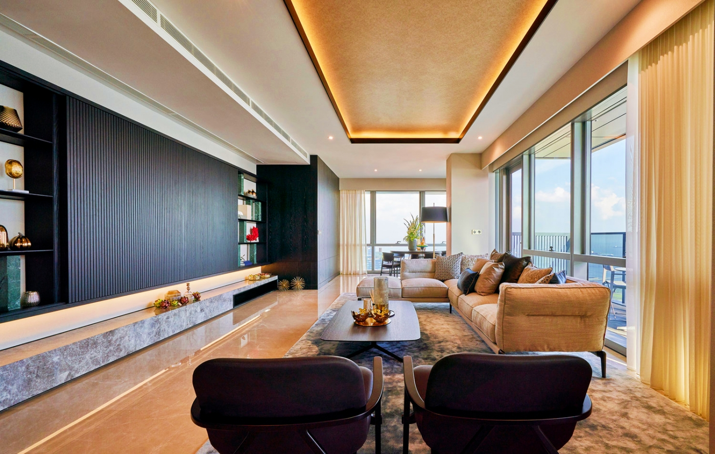 singapore penthouse Inside A $14 Million Singapore Penthouse: The Wallich Residence By Superfat Designs Inside A 14 Million Singapore Penthouse The Wallich Residence By Superfat Designs feature image 1400x889