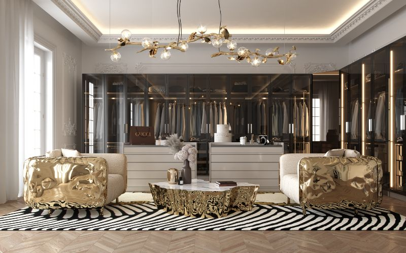This Is What A Luxury Penthouse's Master Suite Looks Like master suite Inside An Opulent Luxury Penthouse's Master Suite 20