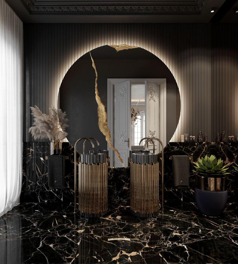 luxury bathroom A Multi-Millionaire Luxury Bathroom With A Parisian Aesthetic 5