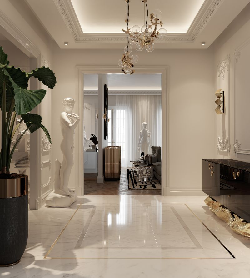 A Millionaire And Luxury Entryway That Makes A Killer First Impression