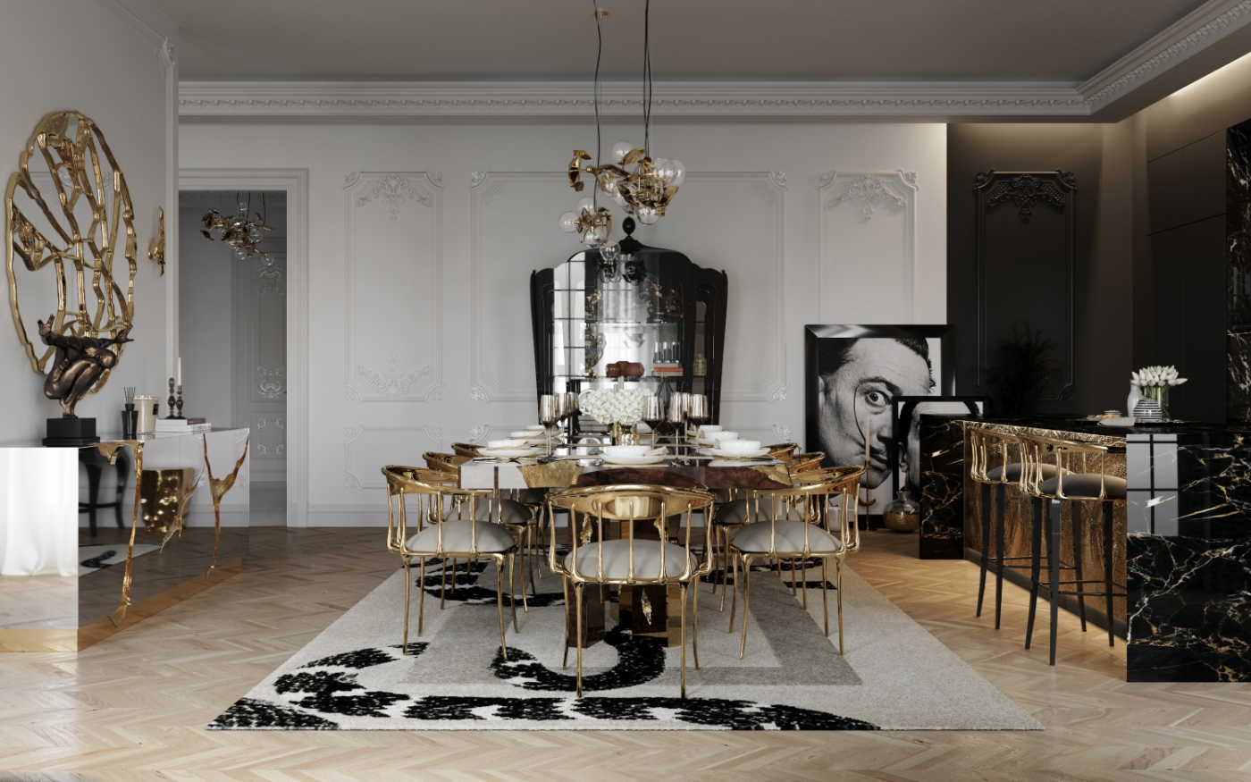 luxury dining room Unravel A Luxury Dining Room Inside A Multi-Million Dollar Penthouse Unravel A Luxury Dining Room Inside A Multi Million Dollar Penthouse 2 1 1 1400x875