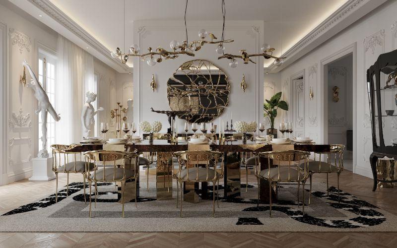 Unravel A Luxury Dining Room Inside A Multi-Million Dollar Penthouse luxury dining room A Luxury Dining Room Inside A Multi-Million Dollar Penthouse Unravel A Luxury Dining Room Inside A Multi Million Dollar Penthouse