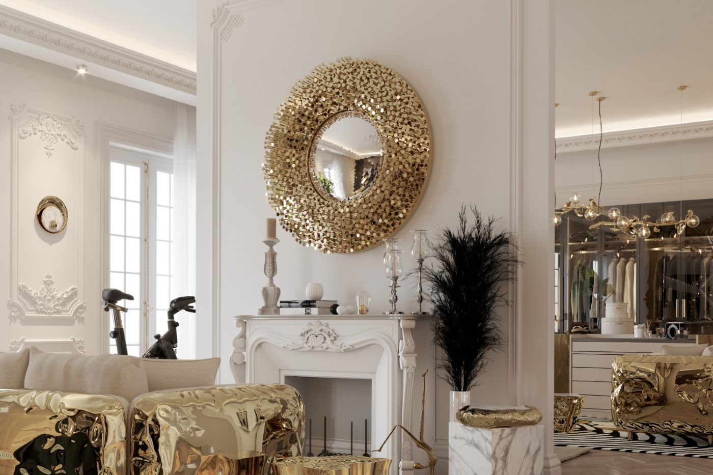 Collectable Design Pieces You Can Find In This Luxury Penthouse ft collectable design Collectable Design Pieces You Can Find In This Luxury Penthouse Collectable Design Pieces You Can Find In This Luxury Penthouse ft 1400x933