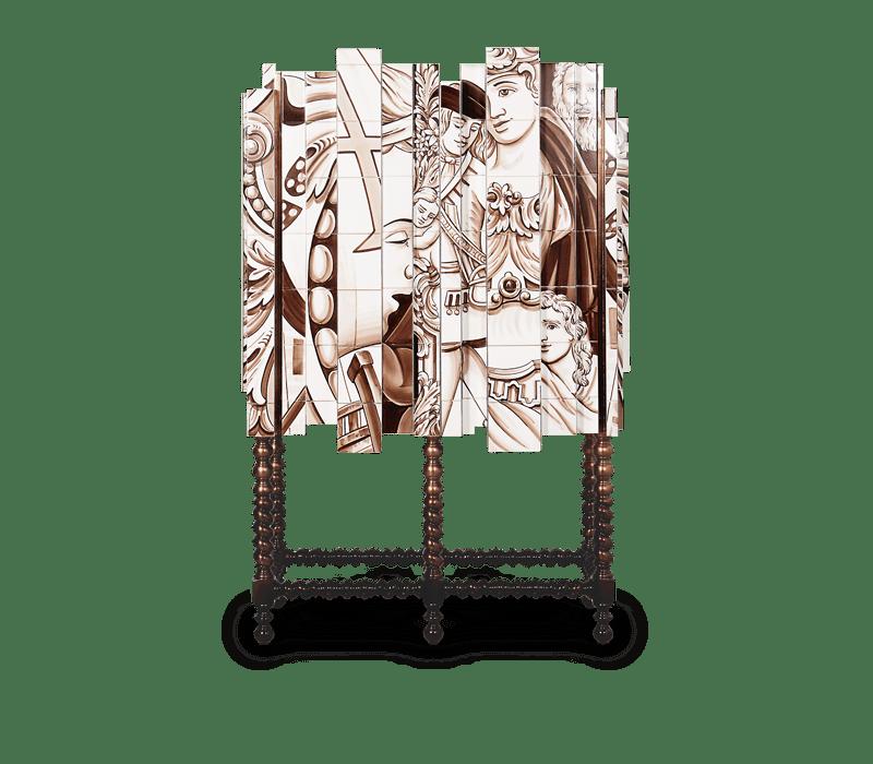 Portuguese Hand-painted Tiles – A Ode to Craftsmanship d heritage cabinet 01 boca do lobo
