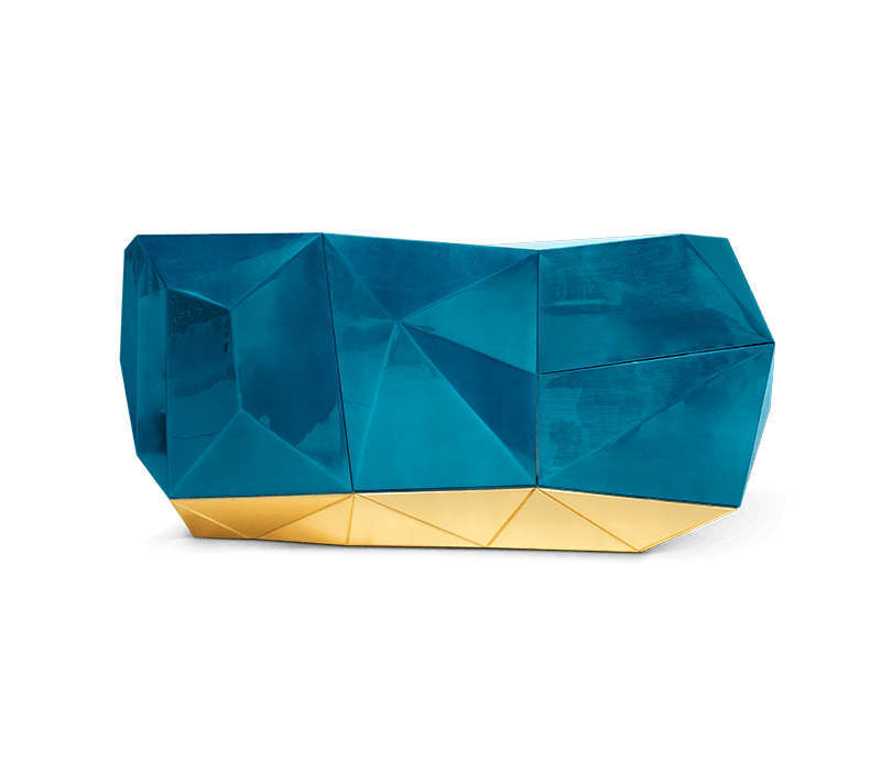 Blue and Gold - Luxury Furniture Inspiration luxury furniture Blue and Gold – Luxury Furniture Inspiration diamond blue sideboard 01 boca do lobo