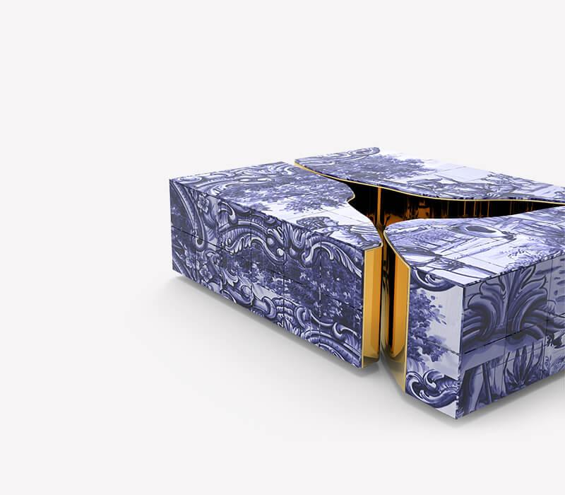Blue and Gold - Luxury Furniture Inspiration luxury furniture Blue and Gold – Luxury Furniture Inspiration lapiaz tiles center table 04 boca do lobo