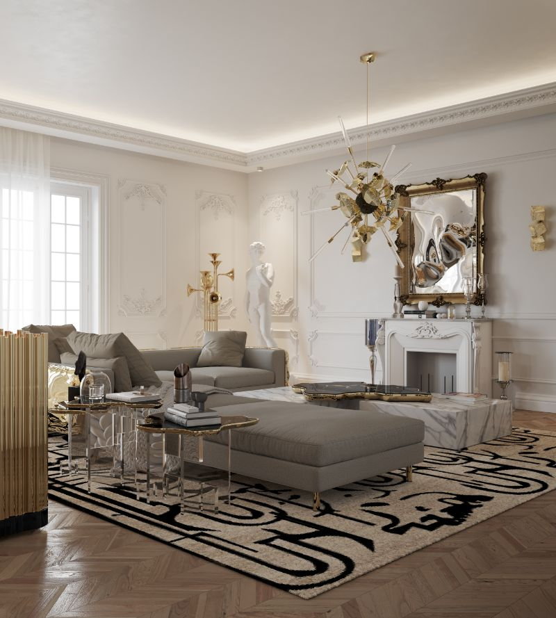 Get The Look Of Parisian Penthouse's Living Room Design living room design Get The Look Of Parisian Penthouse's Living Room Design living room 4