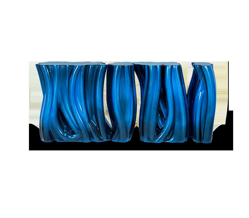 Blue and Gold - Luxury Furniture Inspiration luxury furniture Blue and Gold – Luxury Furniture Inspiration monochrome blue sideboard 01 boca do lobo