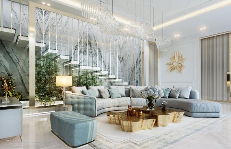 Mouhajer Design Interior Design Projects, مشروع التصميم الداخلي