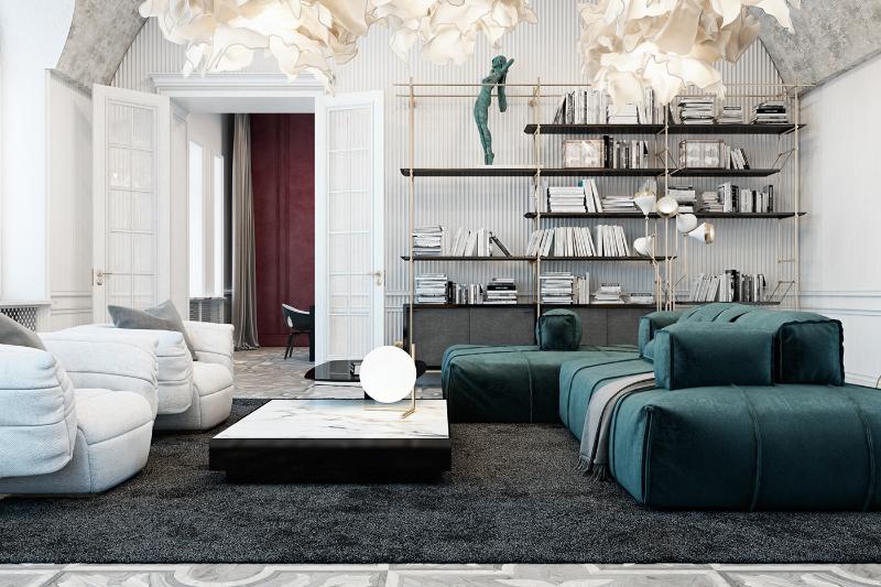 Un Appartamento Irriverente E Indimenticabile, Una Creazione Di Diff Studio diff studio Un Appartamento Irriverente E Indimenticabile, Una Creazione Di Diff Studio 3ed09f35815123
