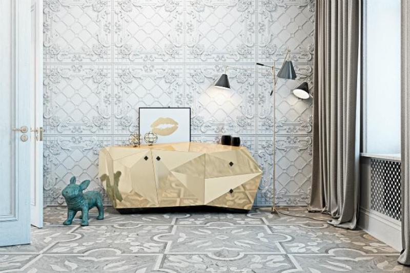 Un Appartamento Irriverente E Indimenticabile, Una Creazione Di Diff Studio diff studio Un Appartamento Irriverente E Indimenticabile, Una Creazione Di Diff Studio diamond gold