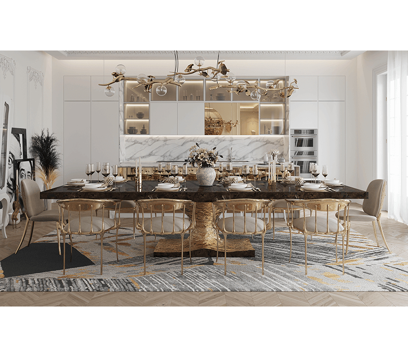 Dubai Interior Design: Luxury Furniture For Your Home تصميم داخلي luxury furniture Dubai Interior Design: Luxury Furniture For Your Home metamorphosis dining table 04 boca do lobo