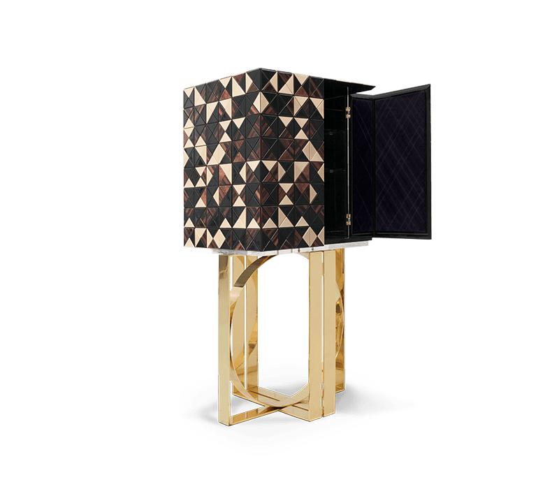 Dubai Interior Design: Luxury Furniture For Your Home تصميم داخلي luxury furniture Dubai Interior Design: Luxury Furniture For Your Home pixel walnut cabinet 02 boca do lobo