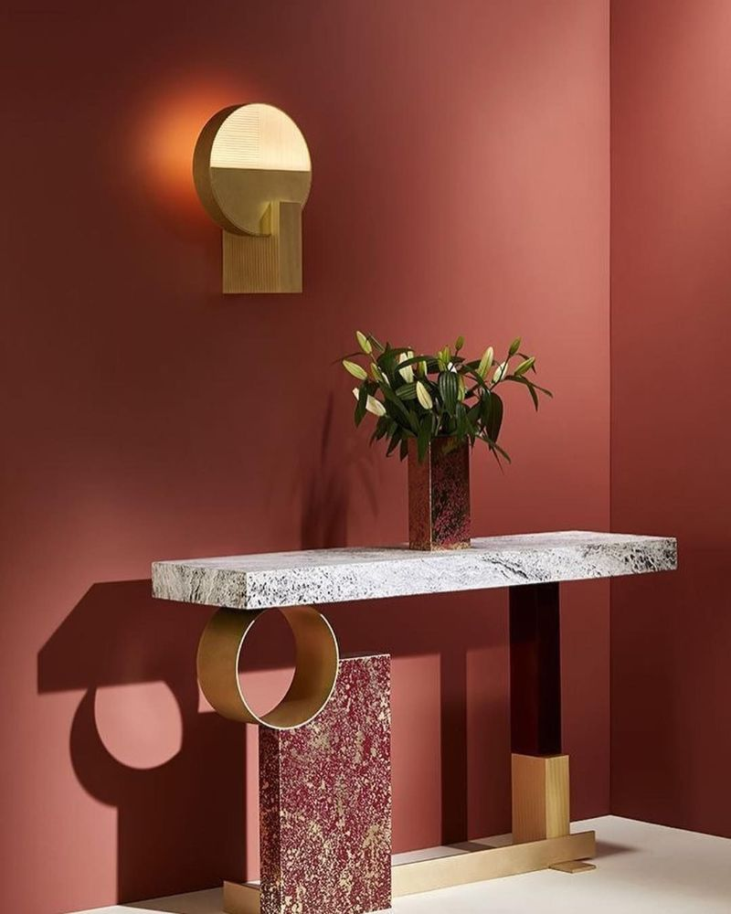 console tables The Coolest Console Tables Designs of The Moment Console Glory Rodolphe Parente Pouenat