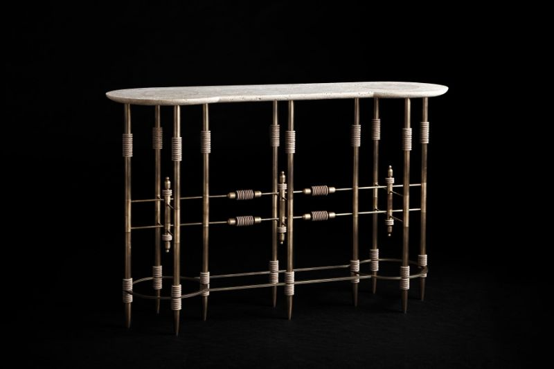 console tables The Coolest Console Tables Designs of The Moment Console Pars Apparatus