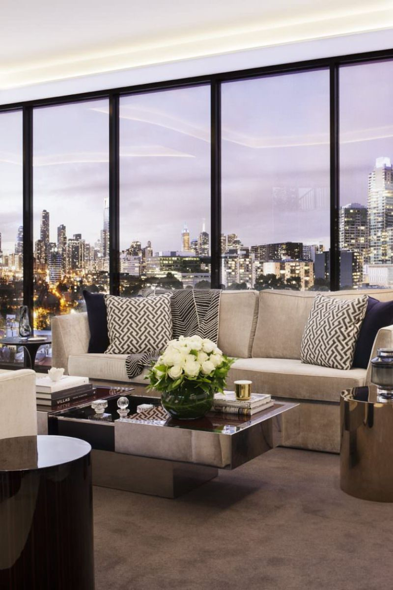 Amazingly Fancy, Luxurious And Modern Interiors From David Hicks david hicks Amazingly Fancy, Luxurious And Modern Interiors From David Hicks EASTERN ROAD APARTMENTS