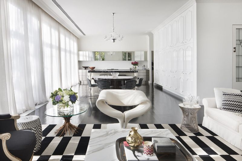 Amazingly Fancy, Luxurious And Modern Interiors From David Hicks david hicks Amazingly Fancy, Luxurious And Modern Interiors From David Hicks ELSTERNWICK RESIDENCE