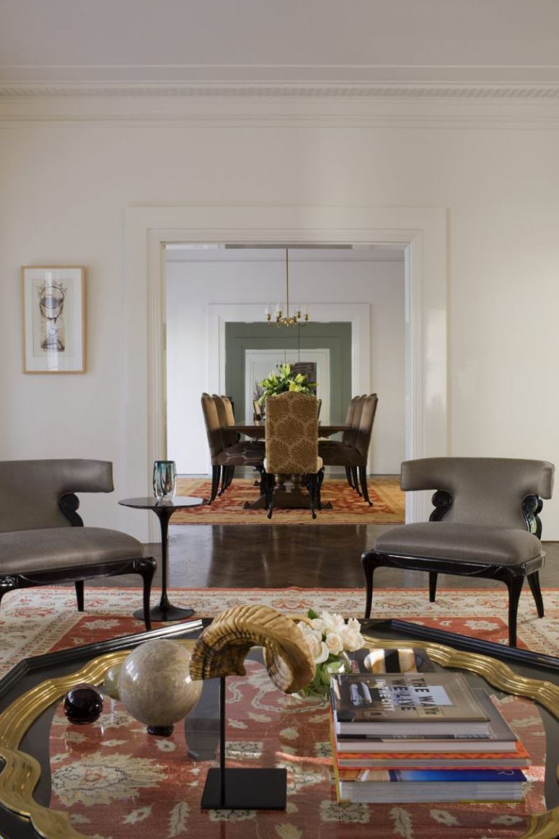 Amazingly Fancy, Luxurious And Modern Interiors From David Hicks david hicks Amazingly Fancy, Luxurious And Modern Interiors From David Hicks GLENBERVIE