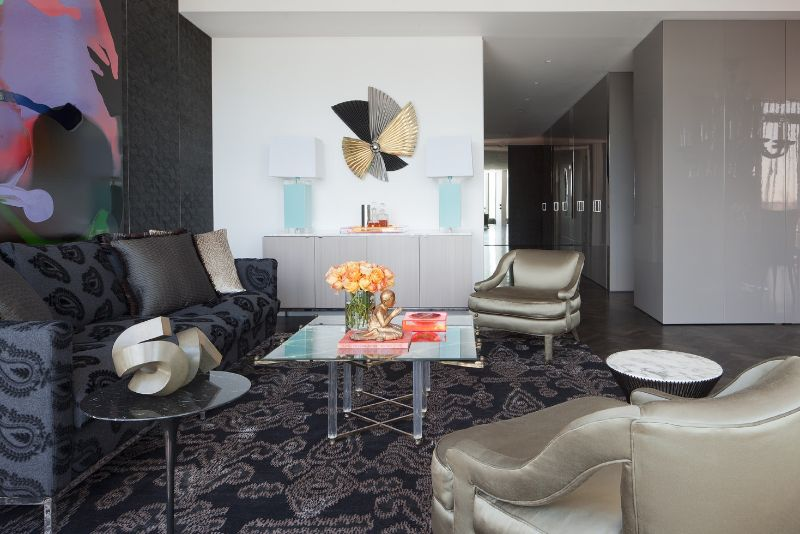 Amazingly Fancy, Luxurious And Modern Interiors From David Hicks david hicks Amazingly Fancy, Luxurious And Modern Interiors From David Hicks HARBOUR PENTHOUSE