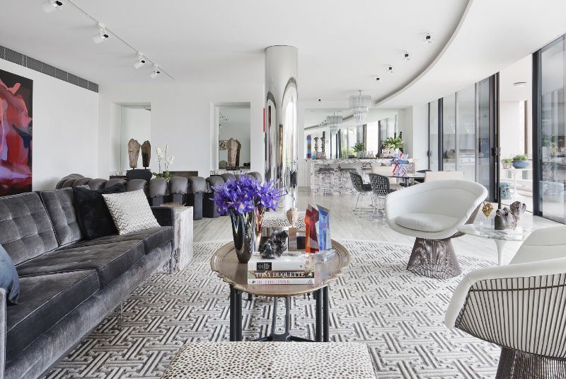 Amazingly Fancy, Luxurious And Modern Interiors From David Hicks david hicks Amazingly Fancy, Luxurious And Modern Interiors From David Hicks MELBOURNE PENTHOUSE