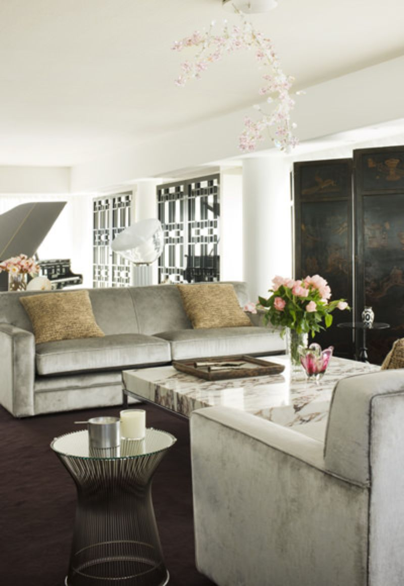 Amazingly Fancy, Luxurious And Modern Interiors From David Hicks david hicks Amazingly Fancy, Luxurious And Modern Interiors From David Hicks PARKSIDE PENTHOUSE