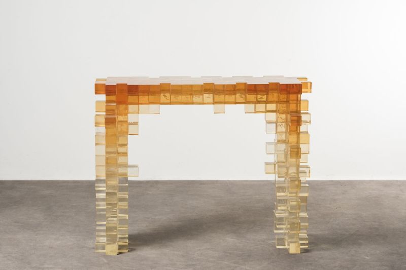 console tables The Coolest Console Tables Designs of The Moment Presenze Console By Studio Nucleo