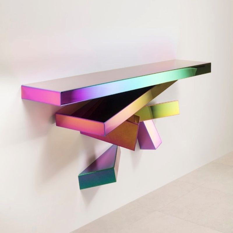console tables The Coolest Console Tables Designs of The Moment Propagation Console by Herve Van der Straeten