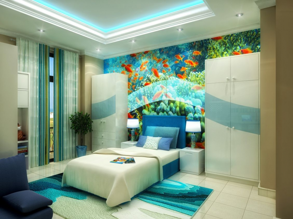 House Of Treasures: Incredible Interior Design Projects تصميم داخلي interior design project House Of Treasures: Incredible Interior Design Projects ZAYED BED VIEW 1 compressed 1024x768