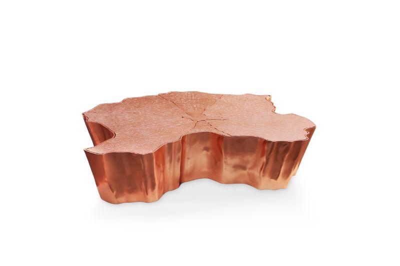 ramon esteve A Traditional Iberian House, Ramon Esteve's Rural Paradise eden copper center table 02