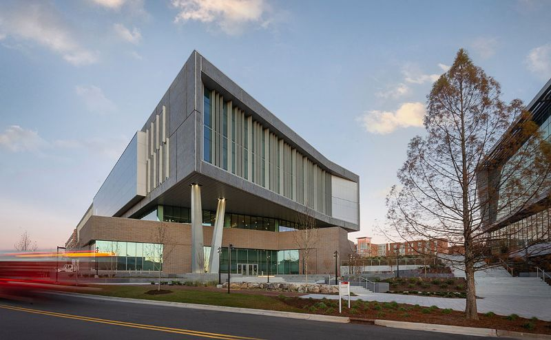 10 Exciting Architectural Buildings From Clark Nexsen clark nexsen 10 Exciting Architectural Buildings From Clark Nexsen fitts woolard engineering building 1200
