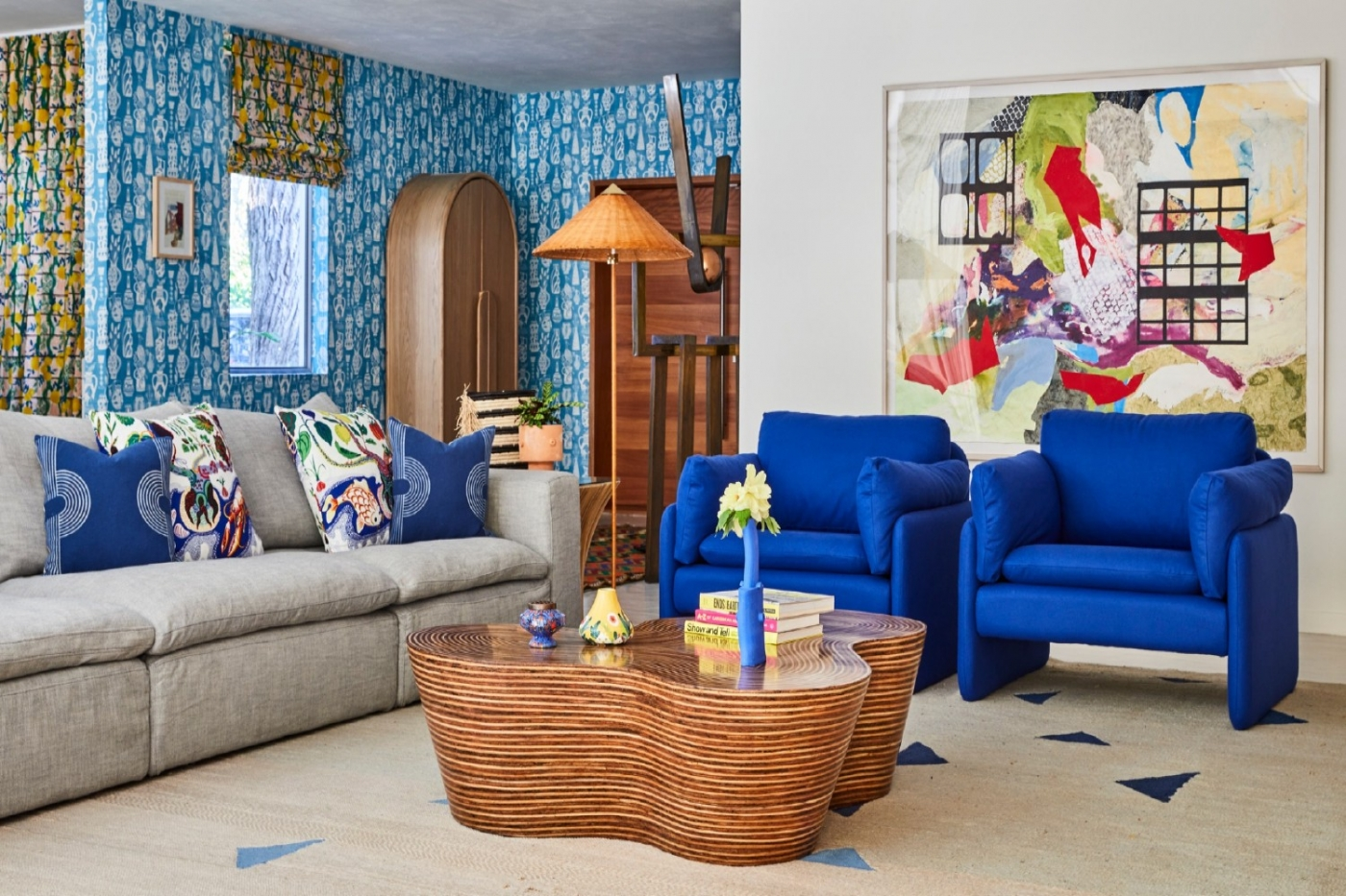 jennifer bunsa jennifer bunsa Jennifer Bunsa Makes Everyone Fall In Love With This Colorful Home ft1 1 1400x933