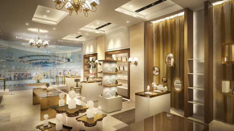 interior design project House Of Treasures: Incredible Interior Design Projects retail abudhabi3 1