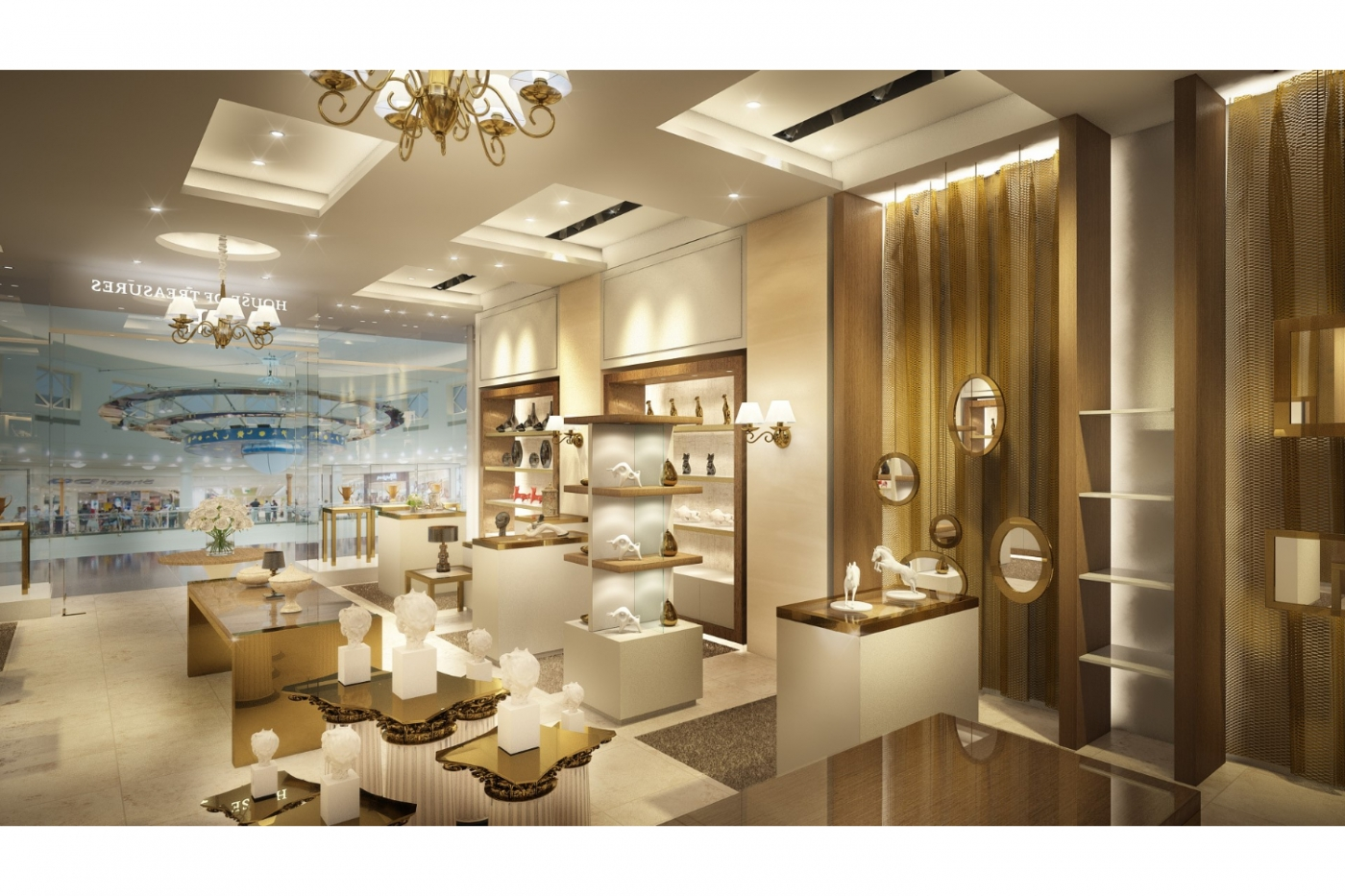 House of Tresures Interior Design Projects interior design project House Of Treasures: Incredible Interior Design Projects retail abudhabi3 2 1400x933