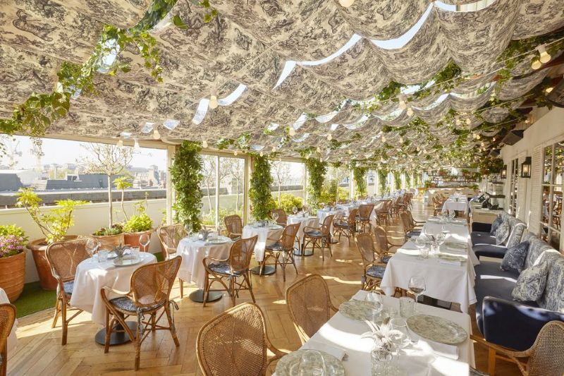 Dior Opens A Rooftop Restaurant In London