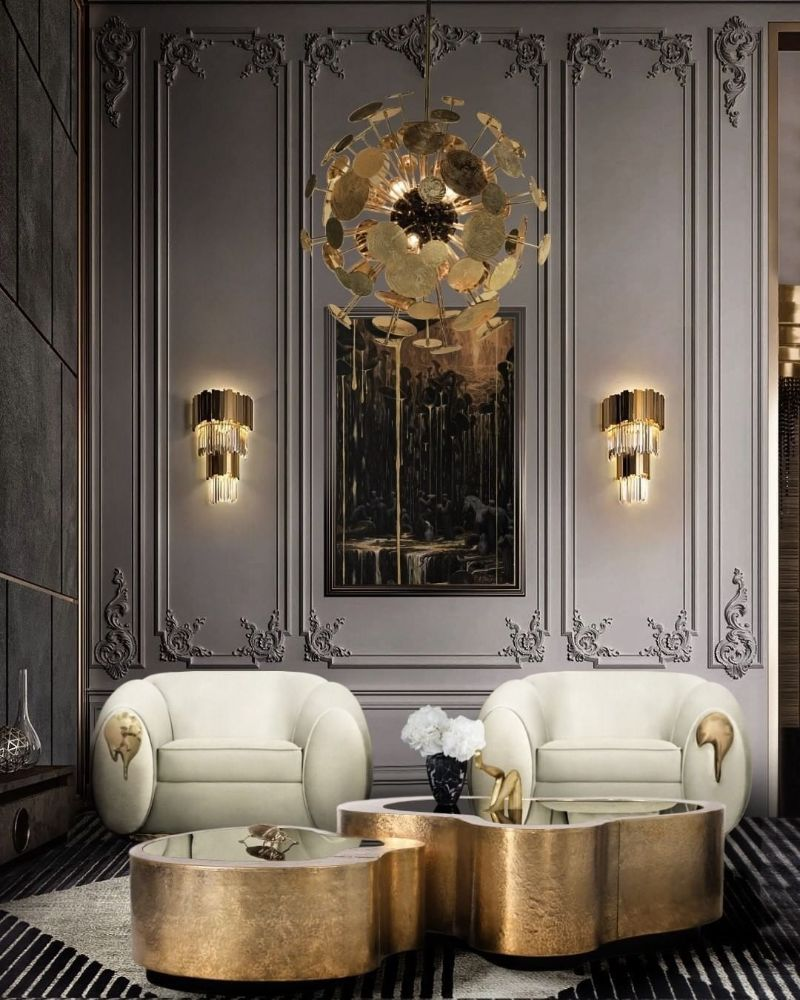 Modern Inspirations For a Luxury Home Design luxury home Modern Inspirations For a Luxury Home Design bl gold contemporary design