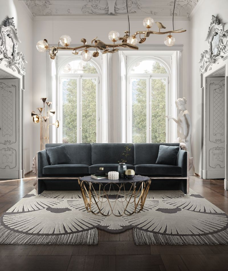 Modern Inspirations For a Luxury Home Design luxury home Modern Inspirations For a Luxury Home Design bl versailles luxury sofa