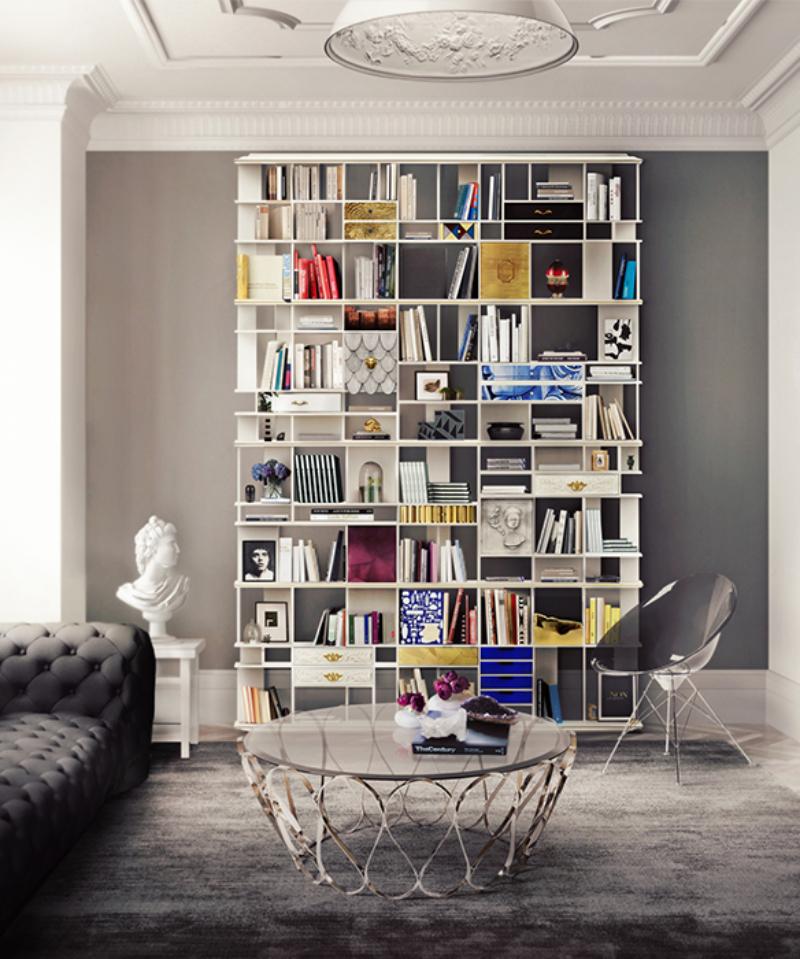 6 Luxury Furniture Pieces Perfect For Dubai's Lifestyle luxury furniture 6 Luxury Furniture Pieces Perfect For Dubai's Lifestyle coleccionista bookcase 02 boca do lobo