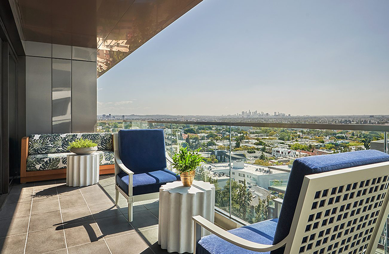 5 New Design Hotels In Los Angeles hollywood hills