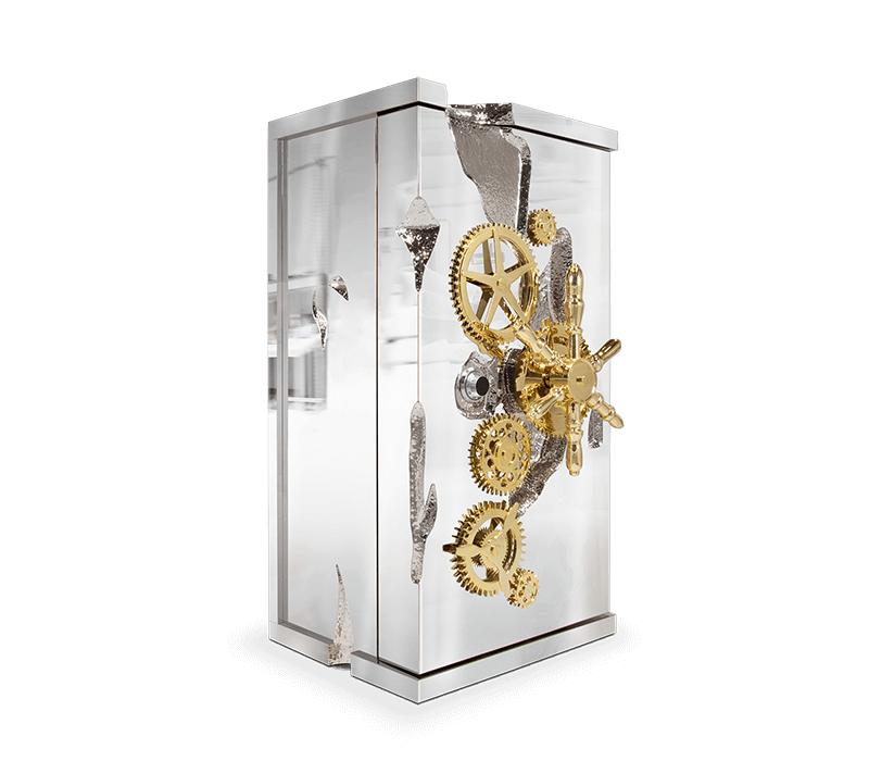 6 Luxury Furniture Pieces Perfect For Dubai's Lifestyle luxury furniture 6 Luxury Furniture Pieces Perfect For Dubai's Lifestyle millionaire silver luxury safe 01 boca do lobo