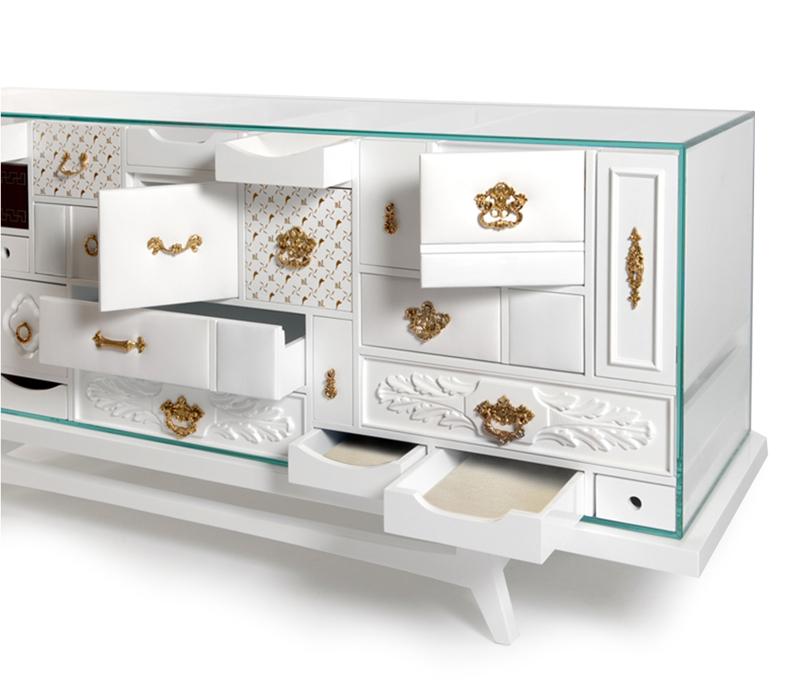 6 Luxury Furniture Pieces Perfect For Dubai's Lifestyle luxury furniture 6 Luxury Furniture Pieces Perfect For Dubai's Lifestyle mondrian white sideboard 03 boca do lobo