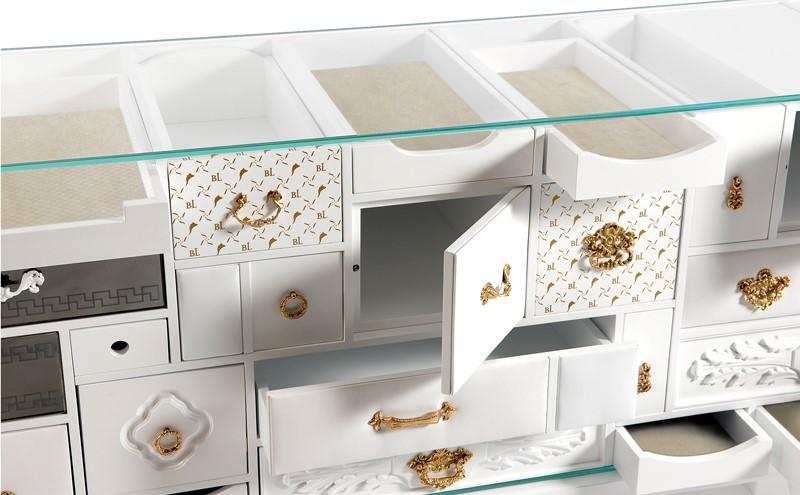 6 Luxury Furniture Pieces Perfect For Dubai's Lifestyle luxury furniture 6 Luxury Furniture Pieces Perfect For Dubai's Lifestyle mondrian white sideboard 04 boca do lobo 1