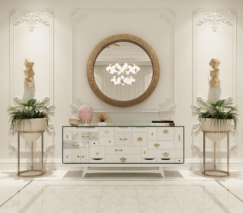 6 Luxury Furniture Pieces Perfect For Dubai's Lifestyle luxury furniture 6 Luxury Furniture Pieces Perfect For Dubai's Lifestyle mondrian white sideboard 14 boca do lobo