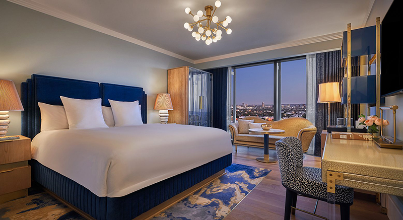 5 New Design Hotels In Los Angeles pendry room 1