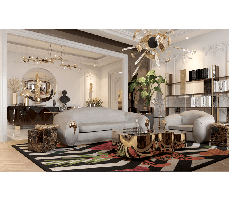 6 Luxury Furniture Pieces Perfect For Dubai's Lifestyle luxury furniture 6 Luxury Furniture Pieces Perfect For Dubai's Lifestyle stonehenge side table 04 boca do lobo 1