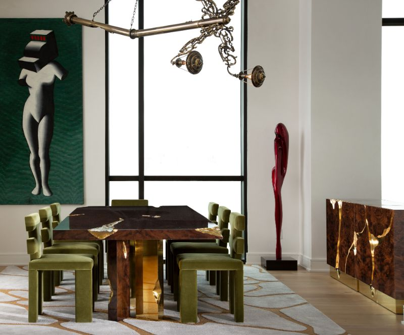 An Art Deco & Contemporary Penthouse In Texas contemporary penthouse An Art Deco & Contemporary Penthouse In Texas Art Deco ID Project in Texas 4