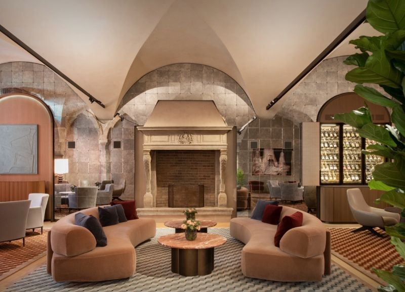 Four Seasons Hotel Milano Gets Revamped By Patricia Urquiola Four Seasons Hotel Milano Camino
